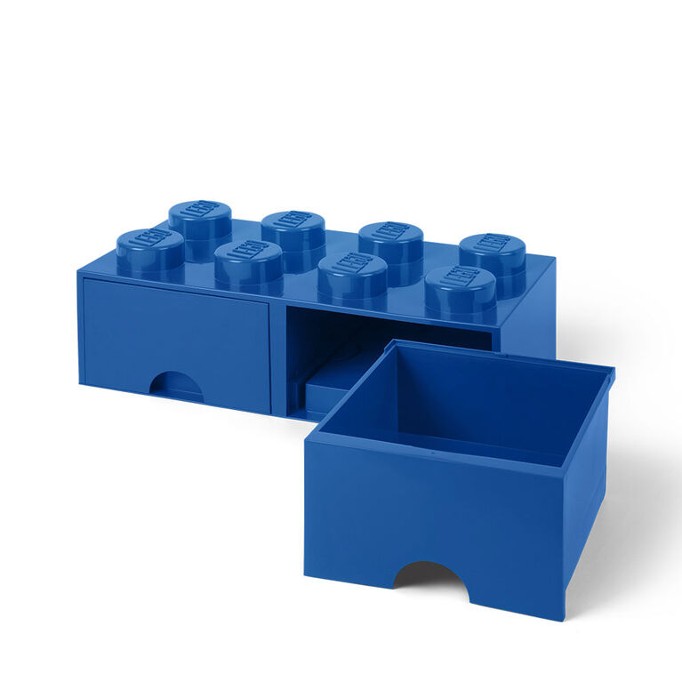 LEGO Storage Drawer 8 Blue