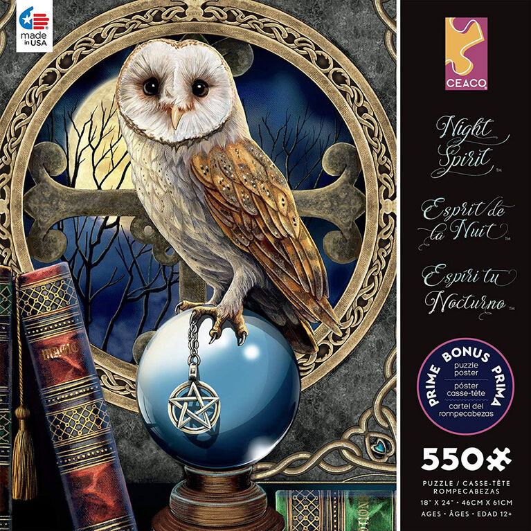 Ceaco: Night Spirit - Spell Keeper Jigaw Puzzle (550 pc)