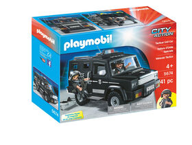 Playmobil - Tactical Unit Car - styles may vary