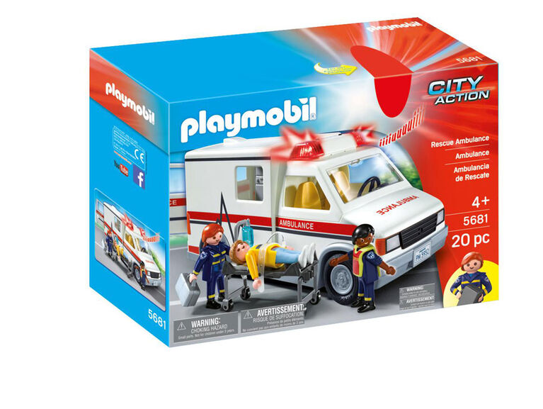 Playmobil Rescue Ambulance - styles may vary