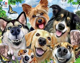 Ceaco Selfies Dog Delight Puzzle 550 Pieces