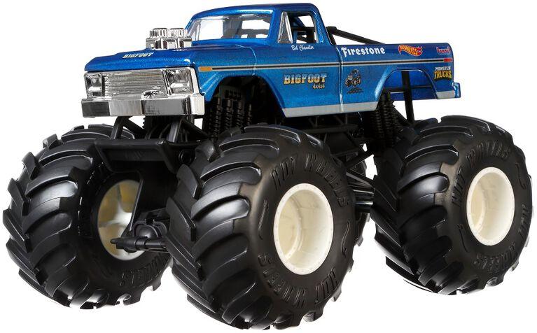 Hot Wheels - Monster Trucks - Véhicule Bigfoot
