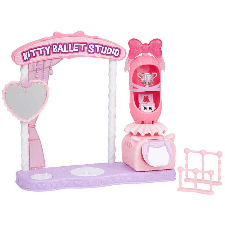 Shopkins Saison 9 Wild Style - Kitty Dance School Playset.