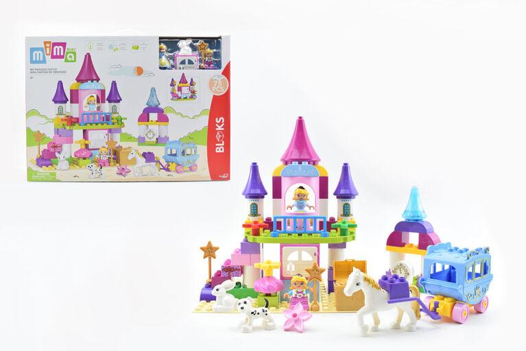MIMA Bloks: Coffret de jeu Mon château de princesse
