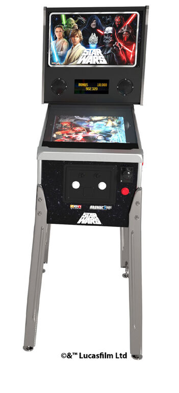 Flipper Arcade1UP Star Wars