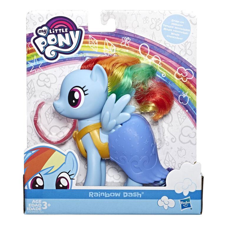 My Little Pony - Figurine Rainbow Dash à habiller - R Exclusif