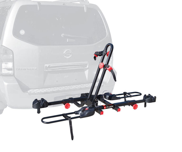 "Allen Sports Easy Load 2-Bike Carrier XR200 Tray for 2"" and 1 1/4"" hitch"