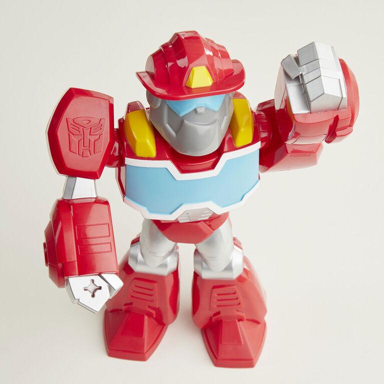 Playskool Heroes Mega Mighties Transformers Rescue Bots Academy, figurine Optimus Prime