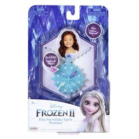 Frozen 2 Elsa's 5th Element Necklace