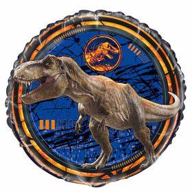 """Jurassic World Round Foil 18"""""""