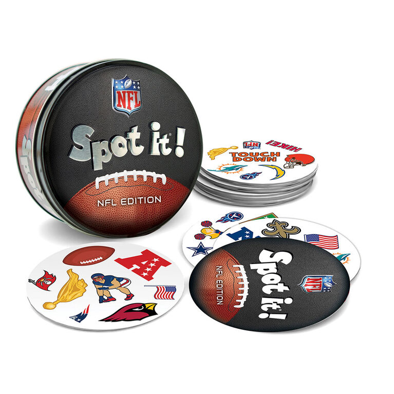 NFL Spot it! All-League Card Game - English Edition