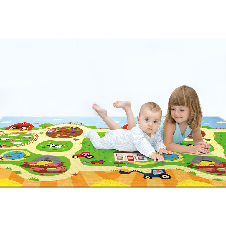 BabyCare Playmat - Medium - Ma petite Ferme (French)