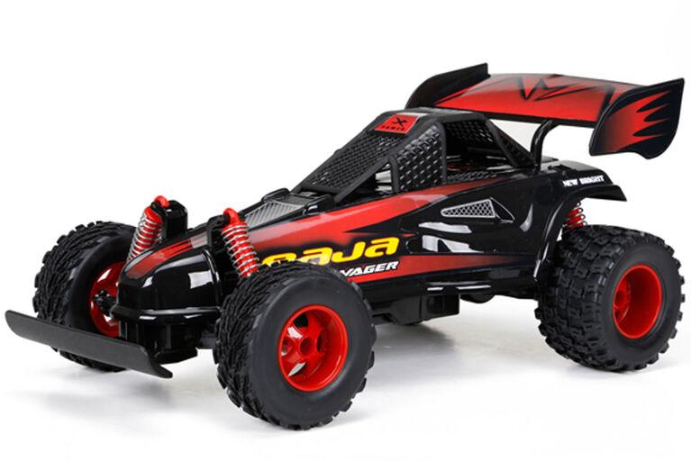 New Bright - 1:16 R/C Baja Extreme Buggy - Black