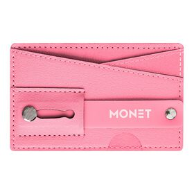 Monet Phone Wallet Grip Stand Pink