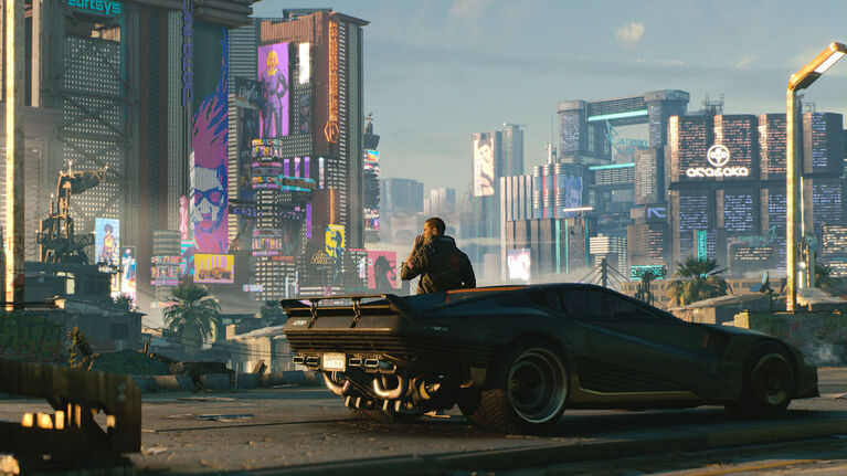 PlayStation 4 Cyberpunk