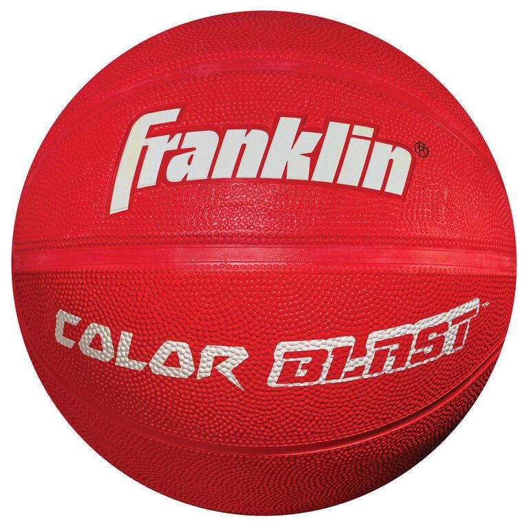 Ballon de basketball Franklin Sports Color Blast - L'assortiment peut varier