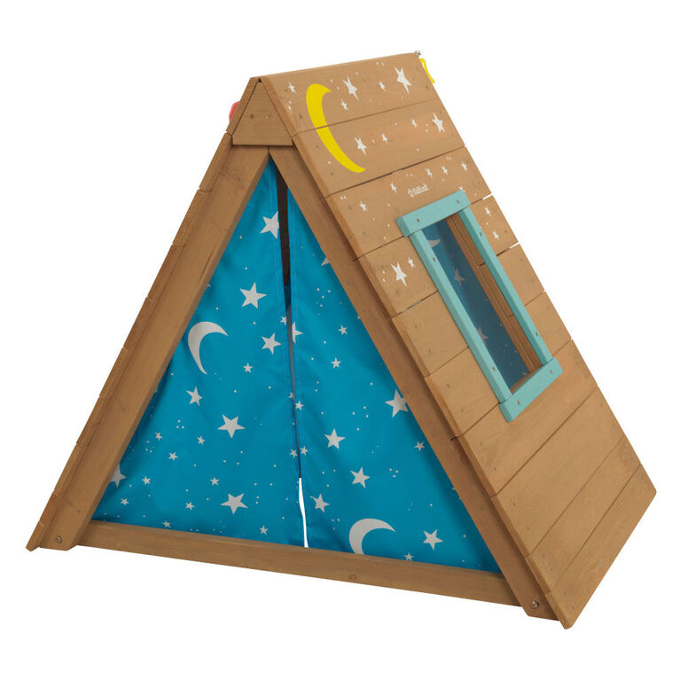 Kidkraft A-Frame Hideaway And Climber - R Exclusive