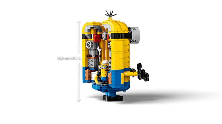 LEGO Minions Les maxi-Minions et leurs repaires 75551