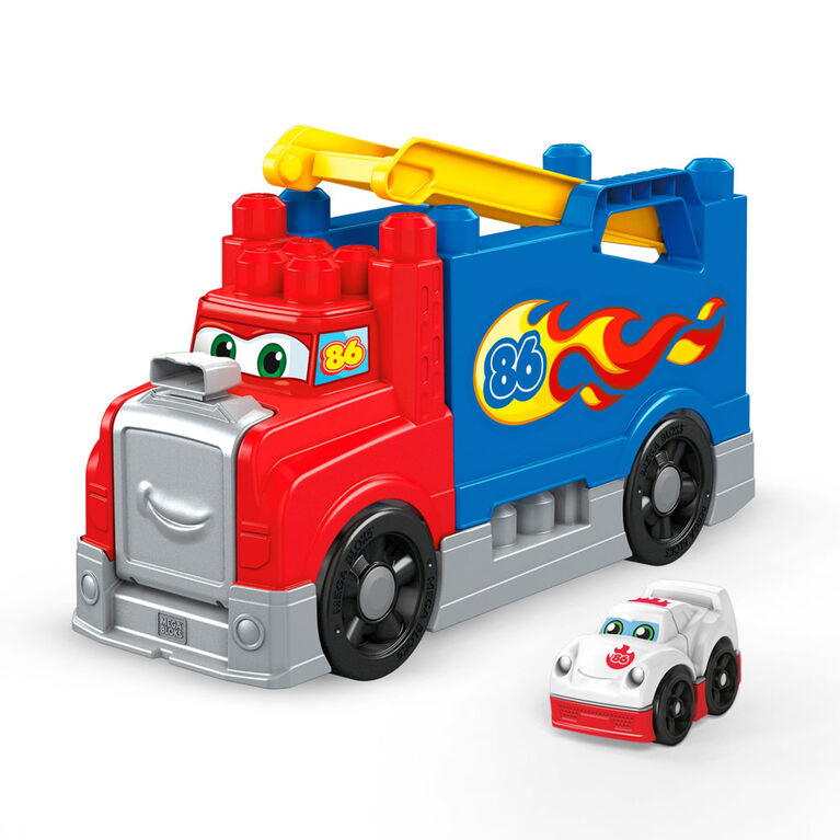 Mega Bloks – Camion Construction et Course