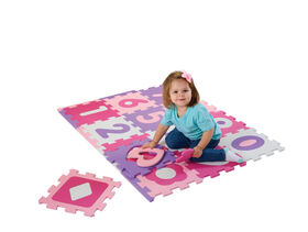 Imaginarium Baby - Foam Numbers and Shapes Playmat - Pink and Purple