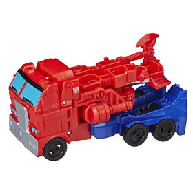 Transformers Cyberverse Action Attackers: 1-Step Changer Optimus Prime.