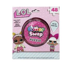 L.O.L. Surprise! 48-Piece Color Swap Puzzle