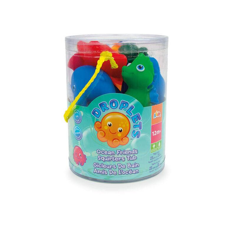 Droplets Bath Tub Set Bath Toy - R Exclusive
