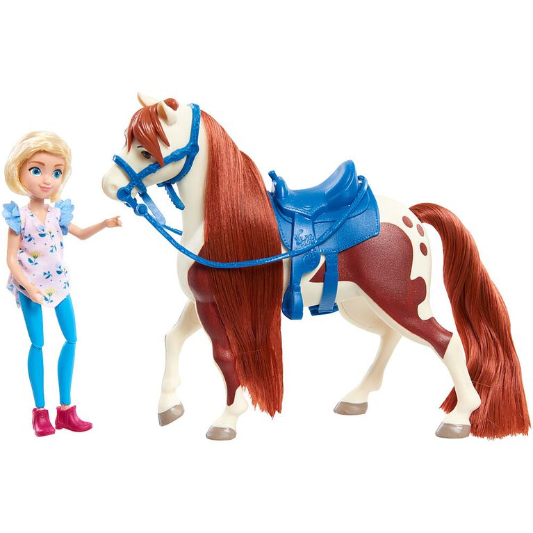 Spirit Small Doll and Horse Assortment - Abigail and Boomerang