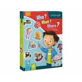 Placote - Who? What? Where? - educational game - English Edition