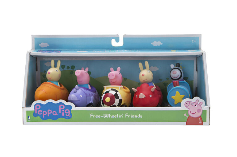 Peppa Pig 5 Pack Mini Buggy - English Edition