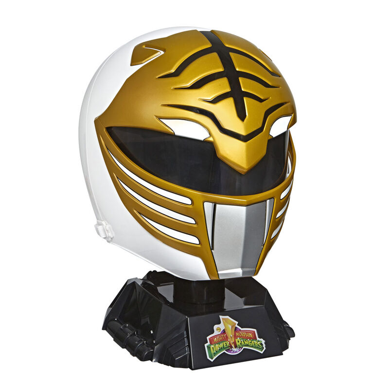 Power Rangers - Lightning Collection Mighty Morphin White Ranger Premium Collector Helmet