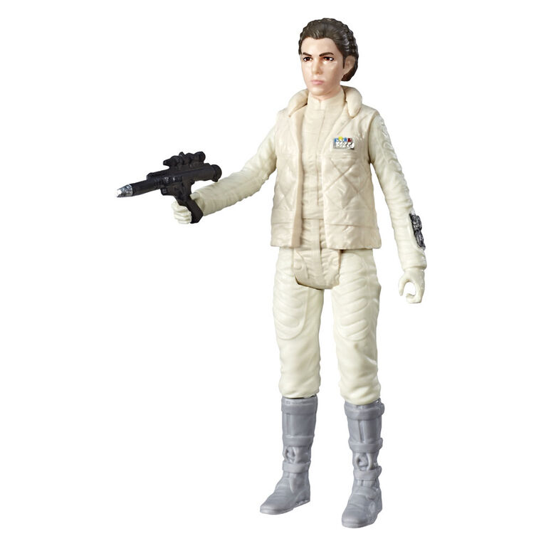 Star Wars Galaxy of Adventures - Figurine Princess Leia et mini bande dessinée - Édition française