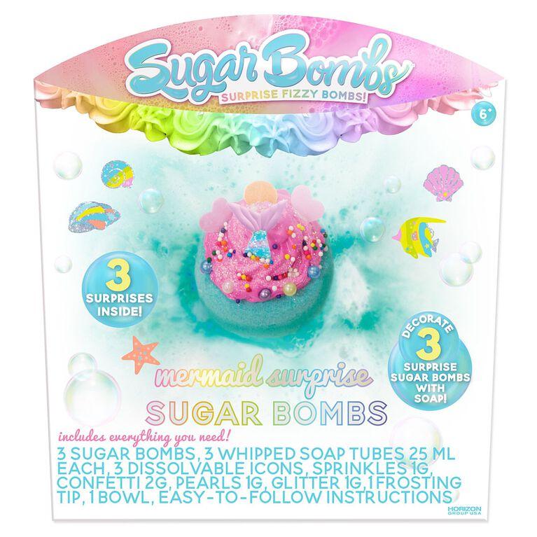 Mermaid Sugar Bombs