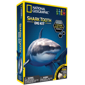 National Geographic Kit de Fouille de dents des requins