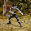 Power Rangers Lightning Collection 6-Inch Dino Charge Black Ranger Premium Collectible - R Exclusive