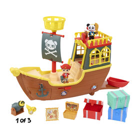 Ryan's World Pirate Ship Playset (12-pieces) - English Edition - R Exclusive