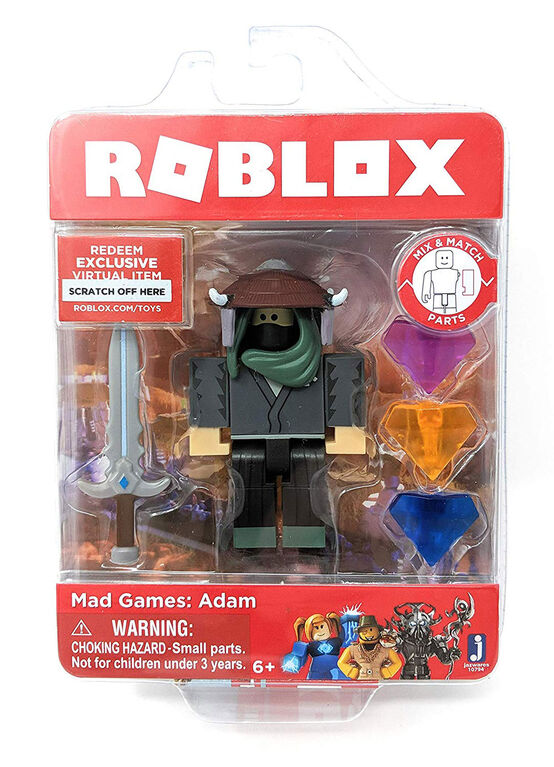 Roblox Mad Games: Adam Core Figure