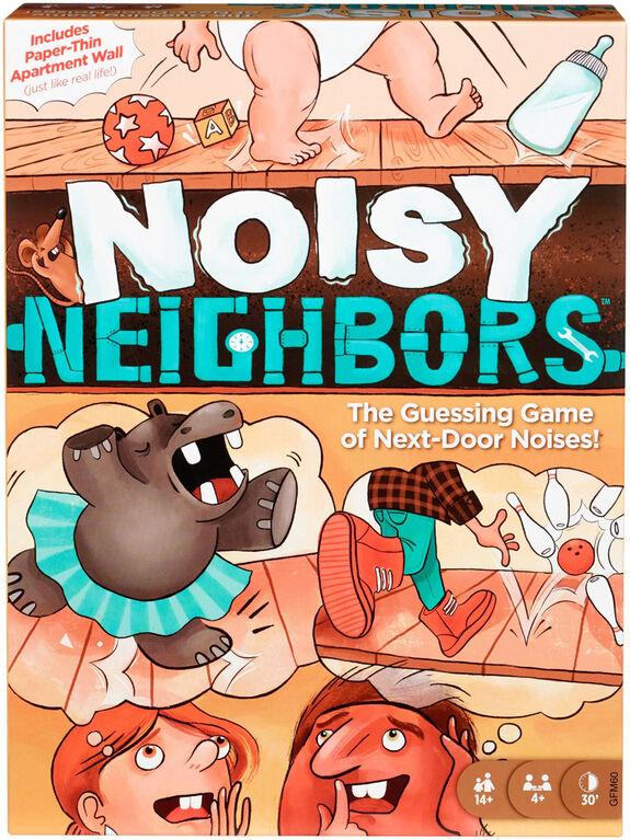 Noisy Neighbors Game  - English Edition