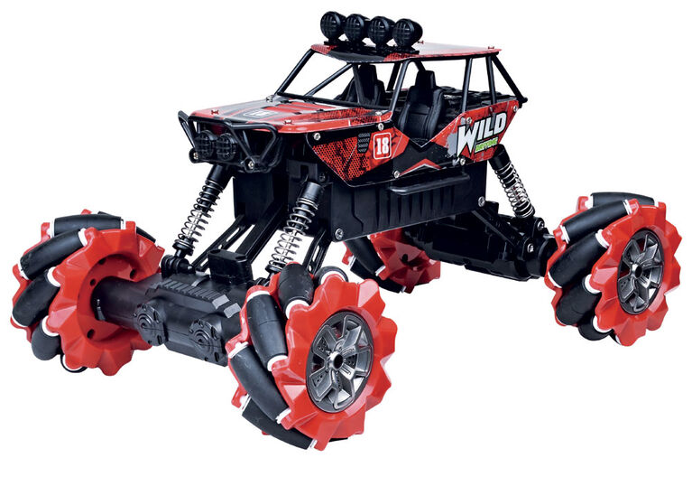 RC Monster Drift - Rouge - Édition anglaise