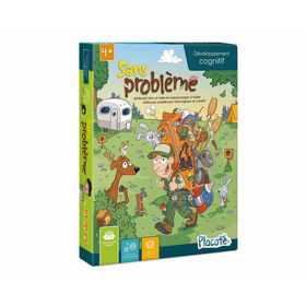 Placote - No Problems - educational game - French Edition