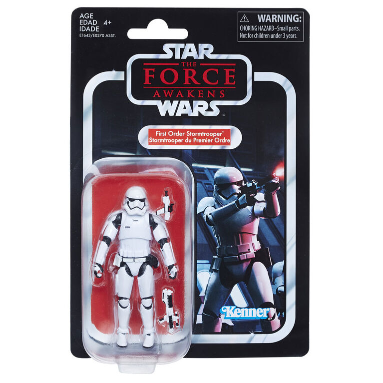 Star Wars The Vintage Collection First Order Stormtrooper 3.75-inch Figure