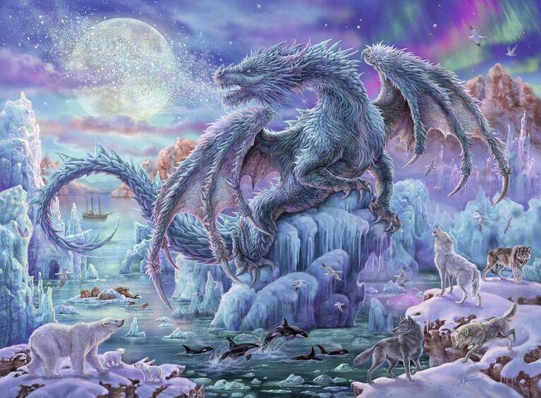 Ravensburger - Mystical Dragons Puzzle 500pc