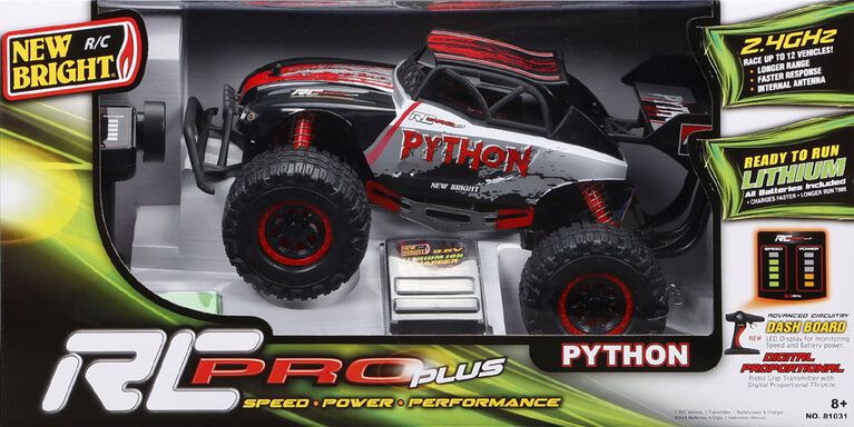 New Bright R/C PRO Plus Python - Red