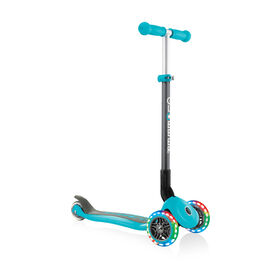 Globber Primo Foldable With Lights Teal