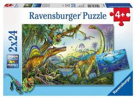 Ravensburger: Animals - Primeval Giants Puzzle (24pc)