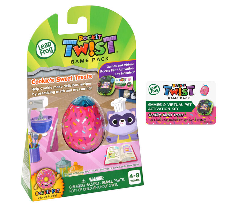 LeapFrog RockIt Twist Game Pack Cookie's Sweet Treats - English Edition