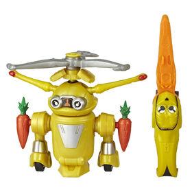 Power Rangers Beast Morphers, figurine de 15 cm Jax Beastbot