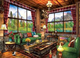 Eurographics Cozy Cabin 1000 Piece Puzzle