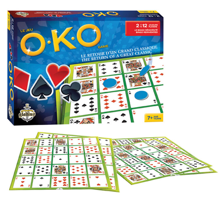 OKO The Game - French Edition - Board colour may vary