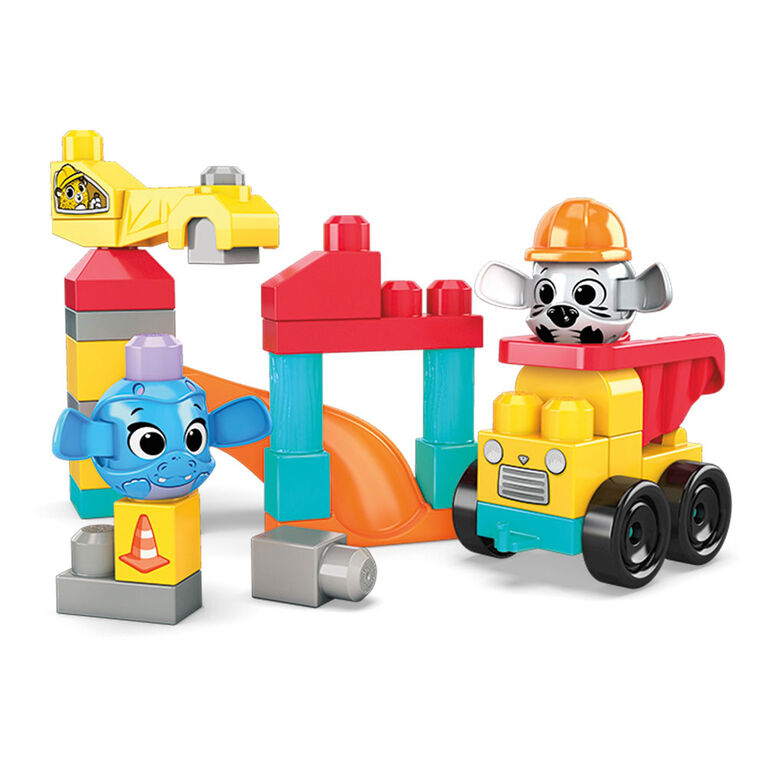 Mega Bloks Peek a Blocks Construction Site